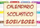 Circolare n. 585/2021Calendario scolastico 21-22